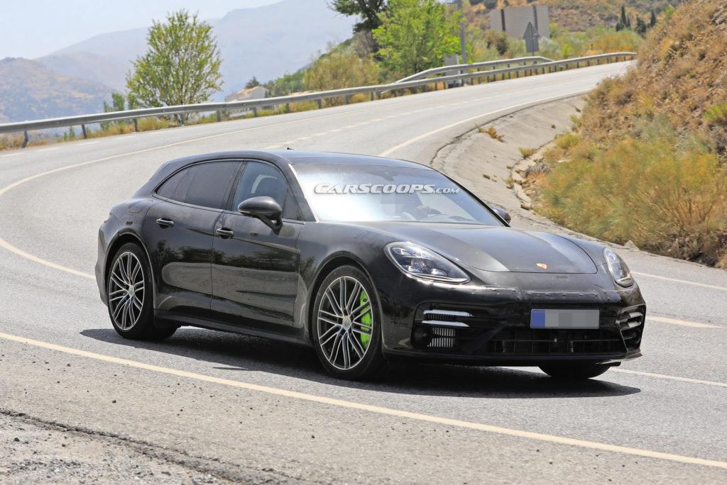 Nowe Porsche Panamera Sport Turismo przyłapane podczas testów