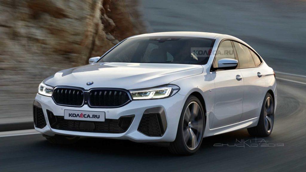 BMW serii 6 GT LCI – wkrótce facelifting nietypowego modelu