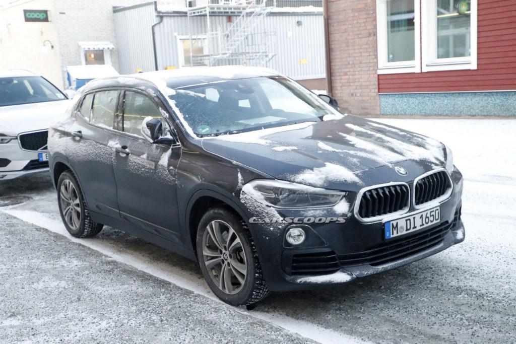 Elektryczne BMW X2 przyłapane podczas testów w Szwecji