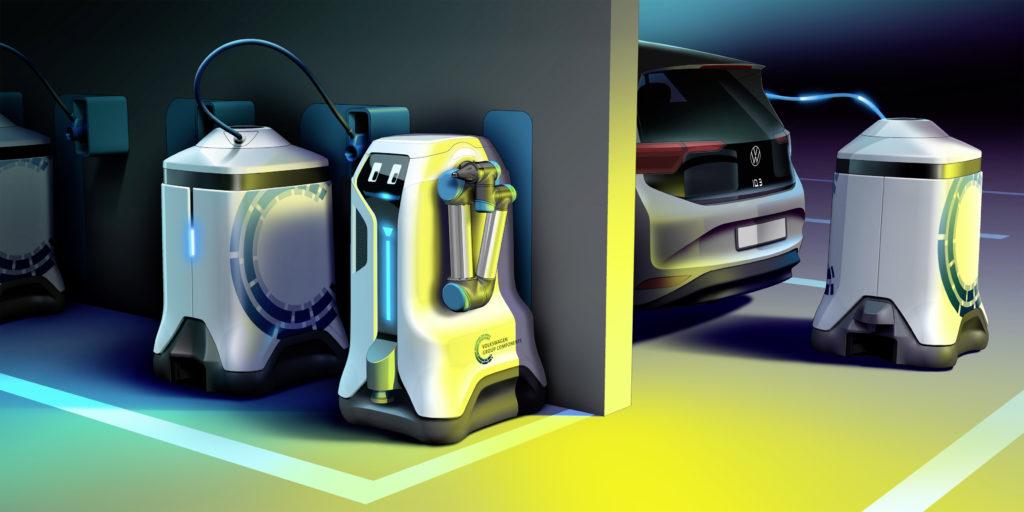 Volkswagen i jego pomysł na roboty ładujące rodem z filmu WALL-E