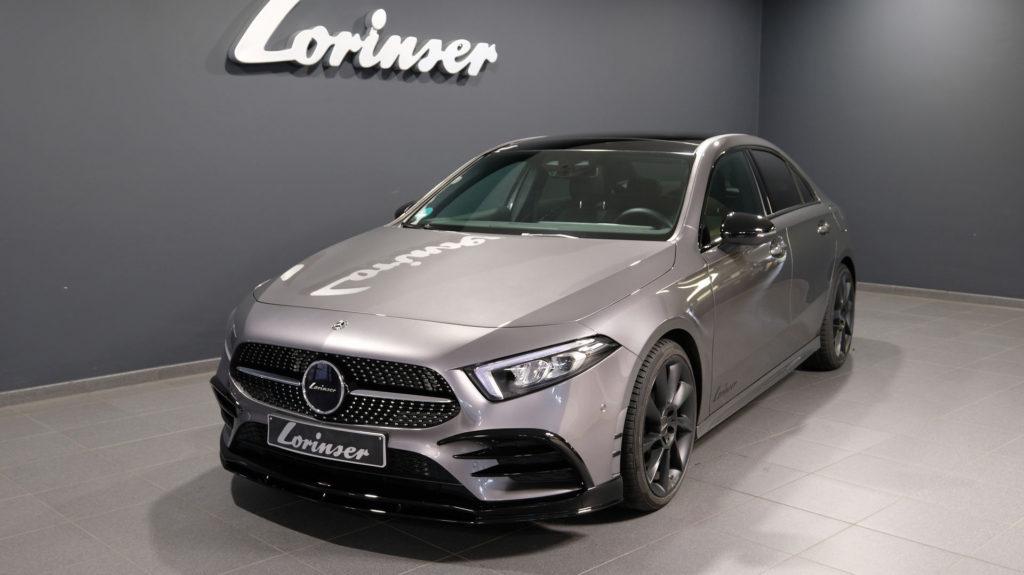 Lorinser przygotował pakiet modyfikacji dla sedana klasy A od Mercedesa