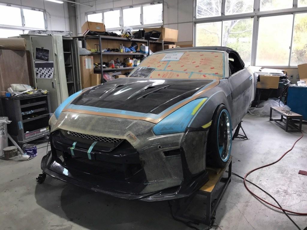 Nissan GT-R Roadster powstał na bazie Nissana 350Z