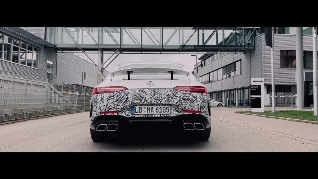 Mercedes robi podsumowanie 2019 roku i zapowiada AMG GT 73
