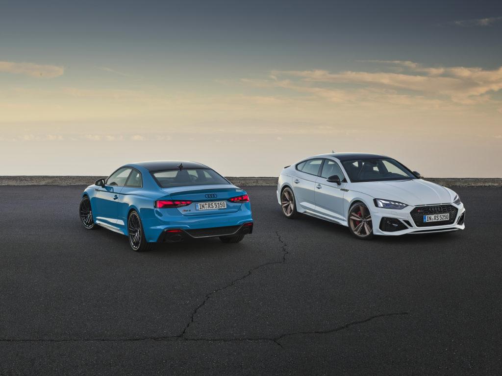 Audi RS5 Sportback i Coupe – odświeżony wygląd przy tej samej mocy