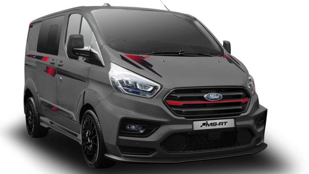 Ford Transit od MS-RT wkracza na rynek brytyjski w limitowanej edycji