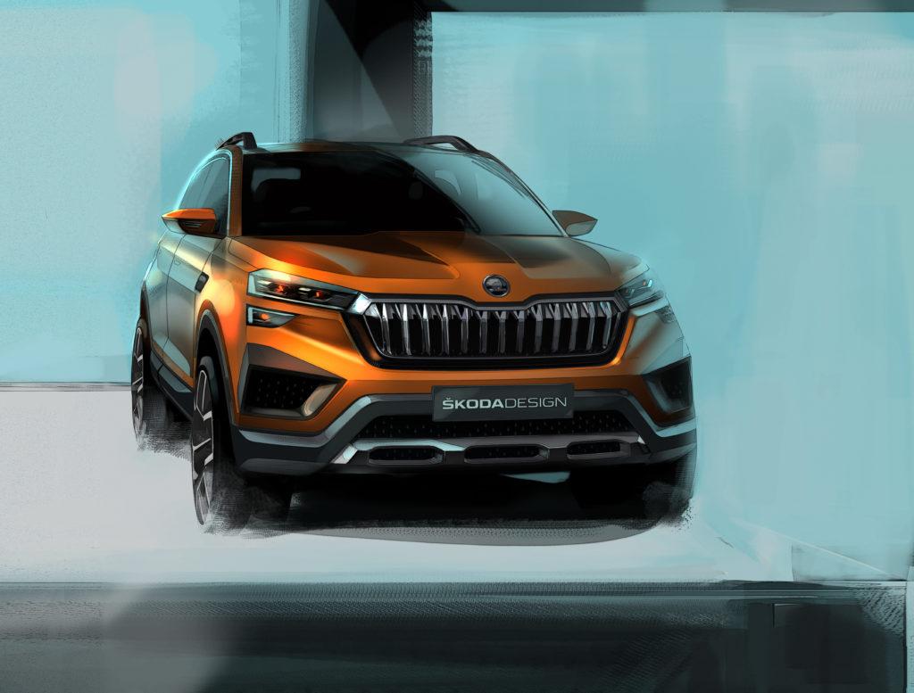 Skoda Vision In Concept – nowy SUV już wkrótce zostanie zaprezentowany