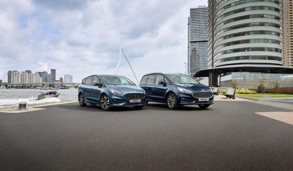 Ford S-Max i Galaxy pojawią się w wersjach hybrydowych w 2021 roku