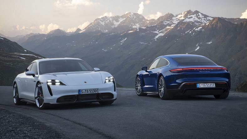 Porsche potwierdza, że eksplodował elektryczny Taycan