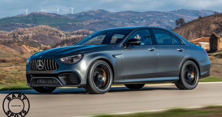 Mercedes-AMG E63S – czy tak będzie wyglądał rywal BMW M5?