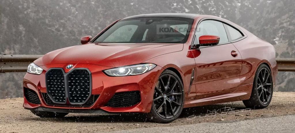 BMW serii 4 2021 na nowych renderach wygląda niesamowicie