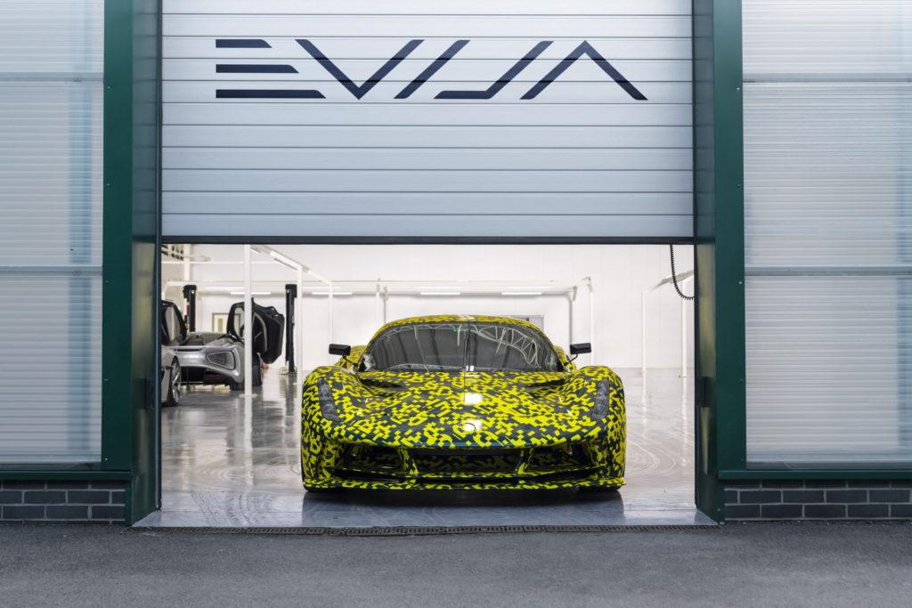 Lotus Evija o mocy prawie 2000 KM trafia do fazy ostatnich testów