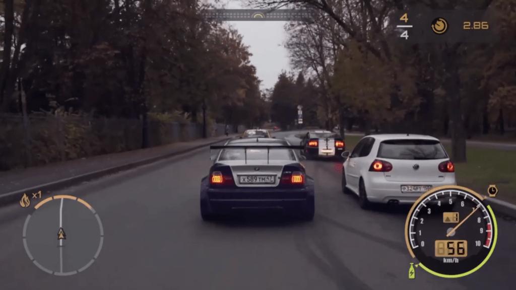 Rosjanie przenieśli Need For Speed: Most Wanted do rzeczywistości