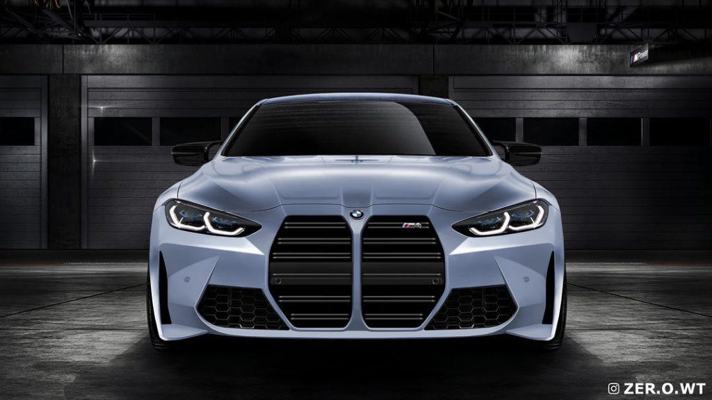 BMW M4 2021 zaprezentowane na fanowskich renderach