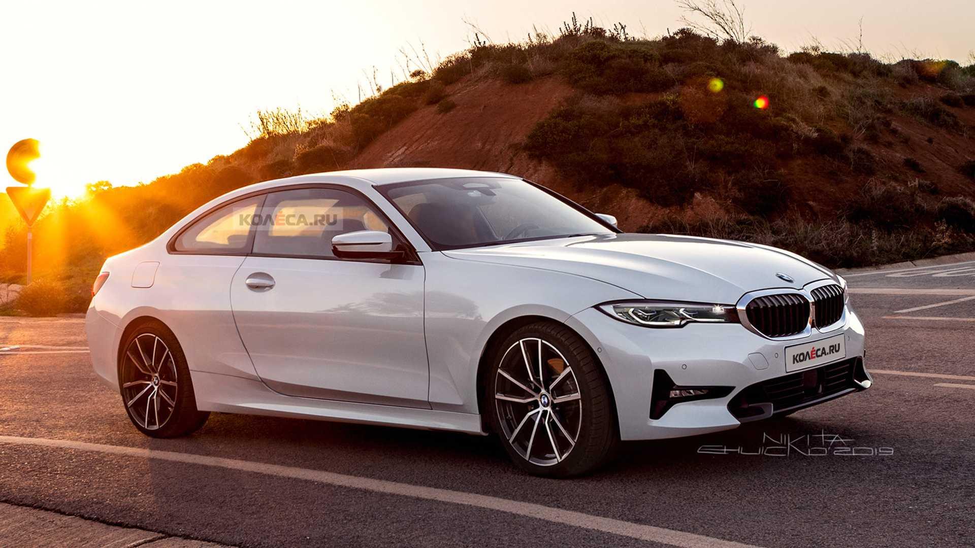 BMW serii 4 2020 - Połączenie serii 8 i 3 w pośrednim wydaniu