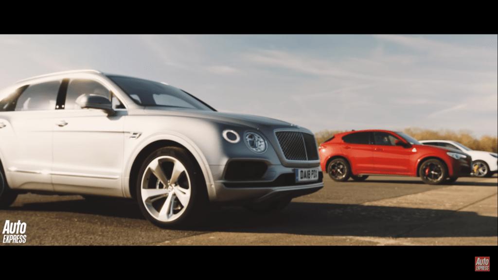 Wyścig Drag sportowych SUVów