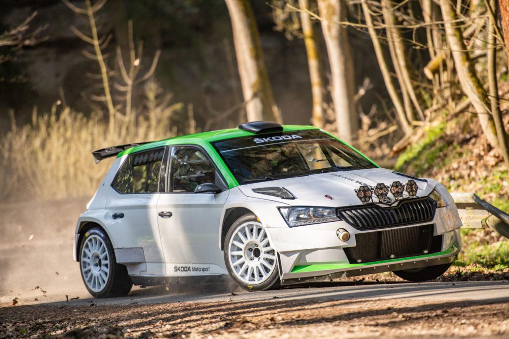 Nowa zmodernizowana Škoda Fabia R5 gotowa do rywalizacji