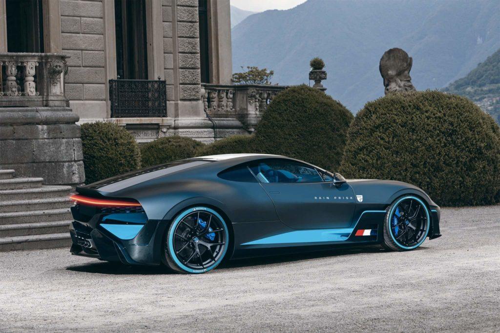 Bugatti Divo z silnikiem z przodu wygląda jeszcze lepiej