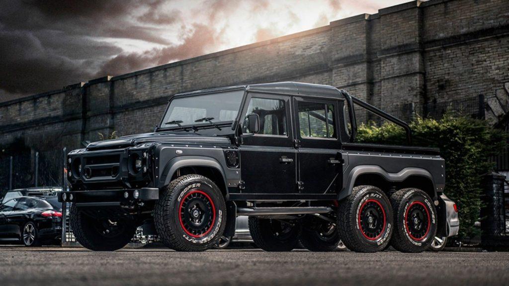 Zwariowany 6-kołowy Land Rover Defender może być Twój