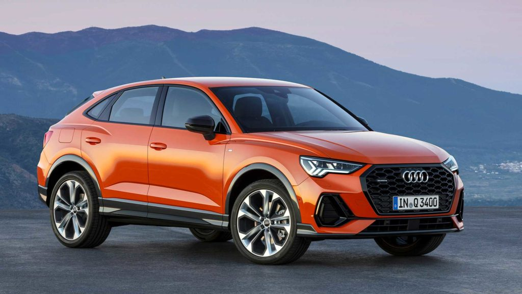 Nowe Audi Q3 aspiruje do Coupe