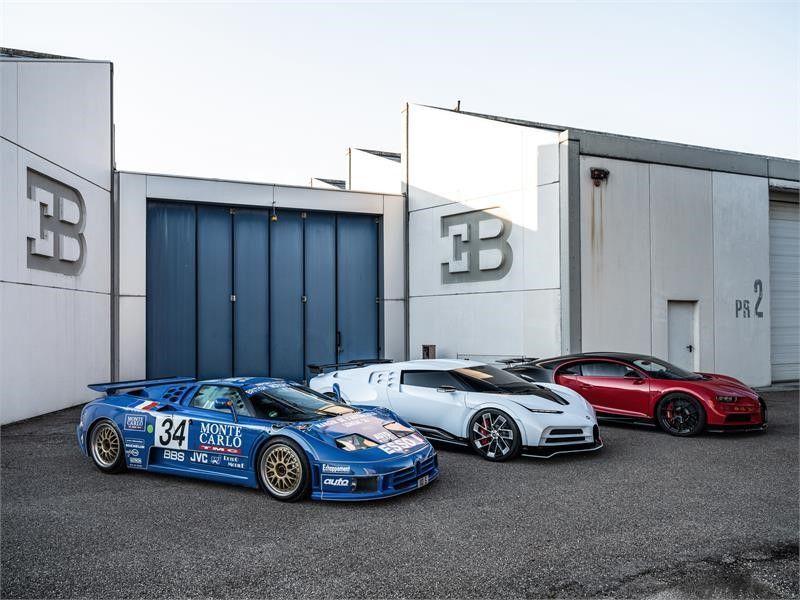 Rimac bliski nabycia marki Bugatti od VAG! Co dalej z silnikami W16?