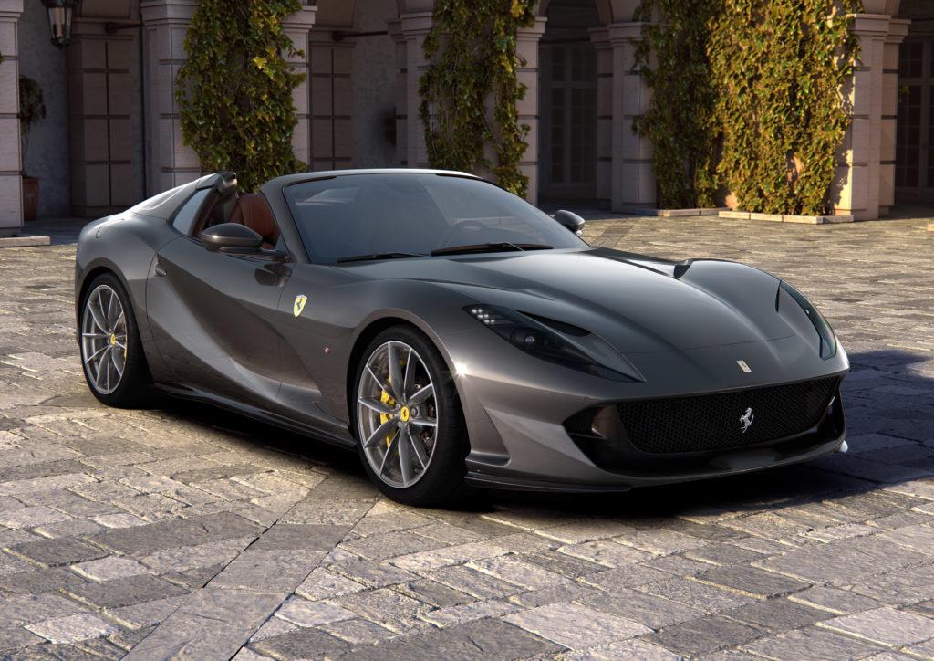 Ferrari 812 GTS – wolnossące V12 o mocy 800 KM bez dachu