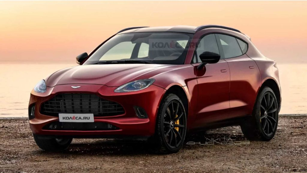 Aston Martin DBX bez kamuflażu i blisko premiery