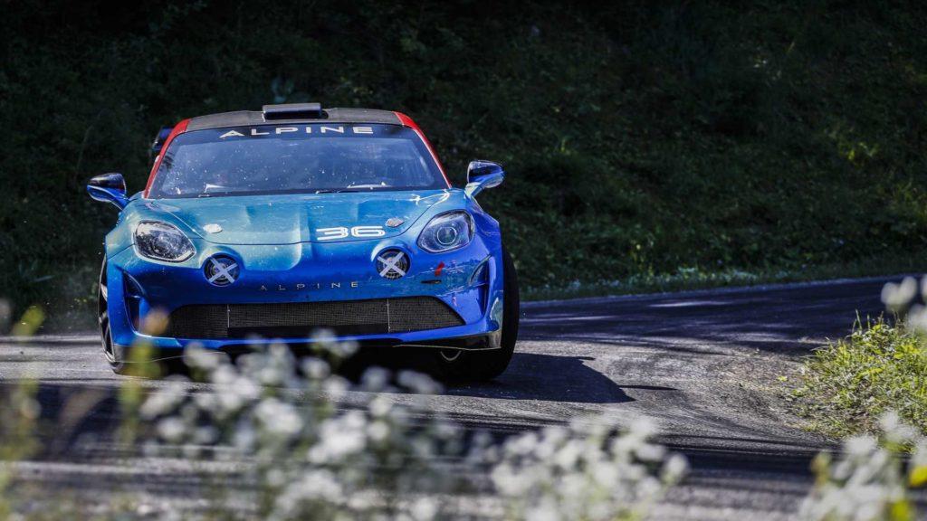 Alpine A110 Rally wraca na rajdowe trasy