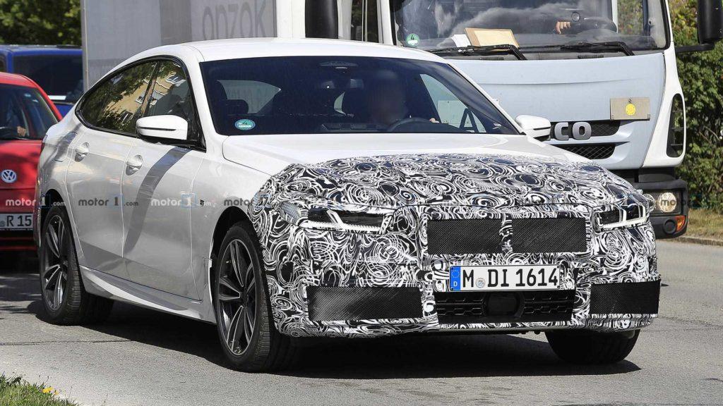 BMW serii 6 GT FL zauważona podczas testów