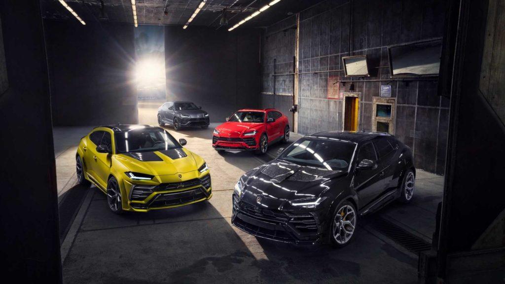Lamborghini Urus od Novitec zyskuje sporo mocy
