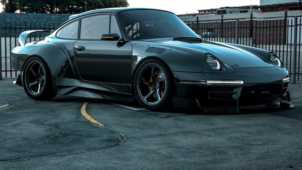 Project 993 – czyli Porsche 993 w przebraniu Moby Dick