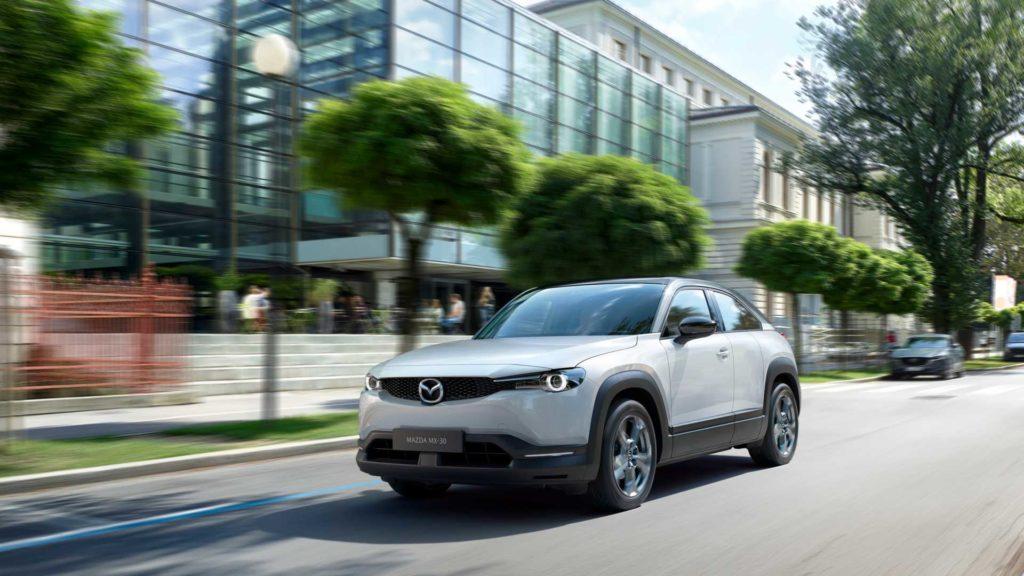 Mazda MX-30 z silnikiem Wankla pojawi się w Europie w 2022 roku