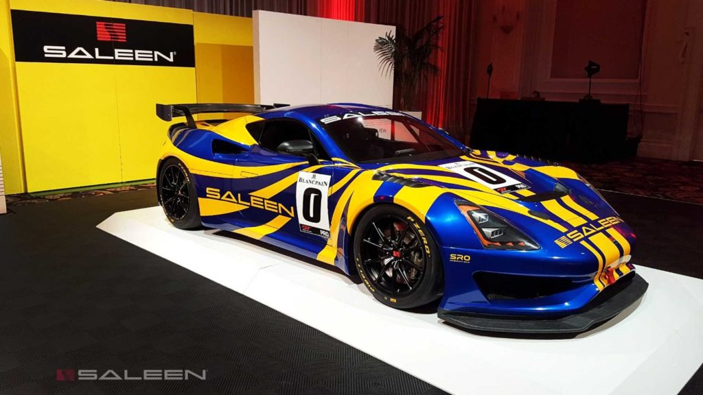 Saleen zaprezentował wyścigówkę klasy GT4