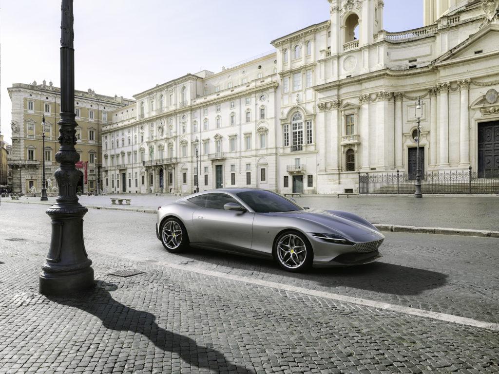 """Ferrari Roma – """"la Nuova Dolce Vita"""", czyli nowe GT z Włoch"""