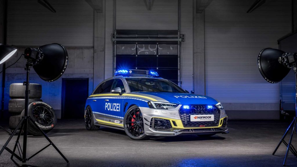 Policyjne Audi RS4-R zaprezentowane na Essen Motor Show