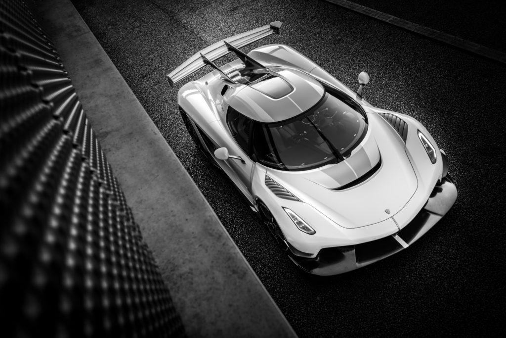 Posłuchajcie genialnego dźwięku silnika Koenigsegga Jesko