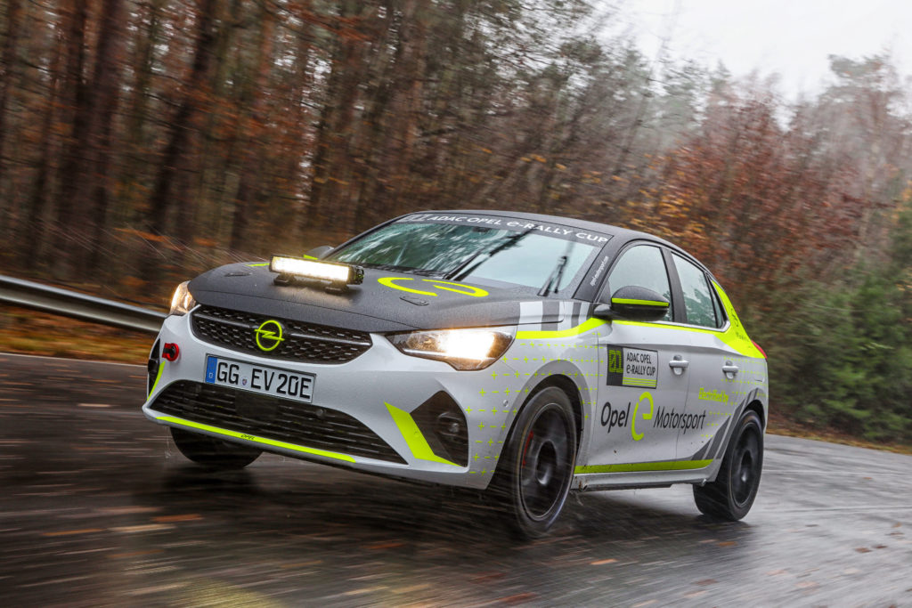 Opel Corsa-e Rally – pierwsza oficjalna elektryczna rajdówka
