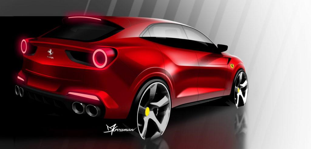 Ferrari Purosangue powstanie na bazie modelu Roma w 2021?