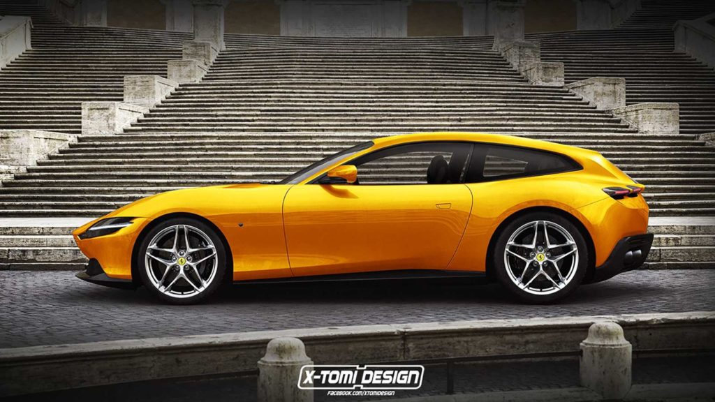 Ferrari Roma jako Shooting Break i Spider wygląda obłędnie!