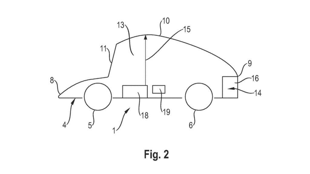 """Porsche opatentowało """"ruchomy dach"""" dla samochodów autonomicznych"""