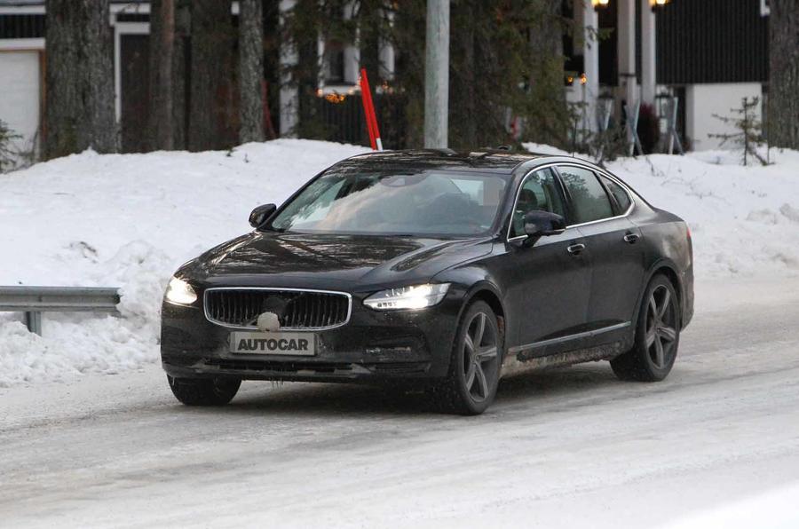 Volvo szykuje facelifting modeli V90, V90 Cross Country i S90