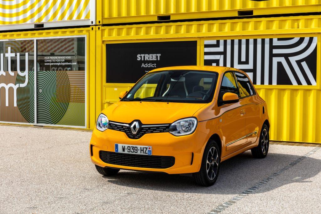 Elektryczne Renault Twingo technologicznym Smart EQ ForFour?