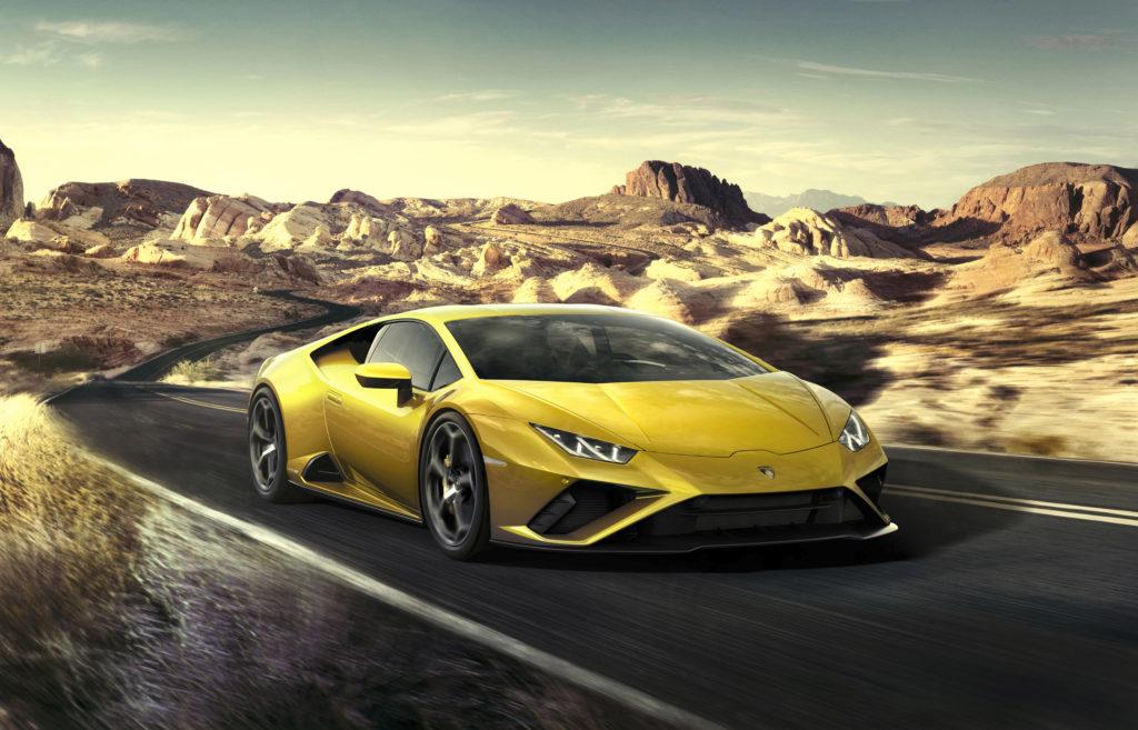 Lamborghini Huracan EVO RWD – stworzone dla przyjemności z jazdy