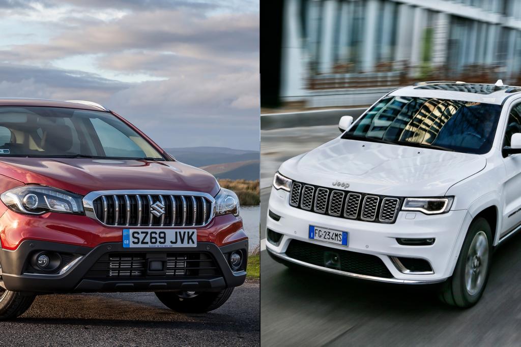Suzuki i Jeep oszukiwali w testach emisji spalin modeli Grand Cherokee, Vitara i S-Cross