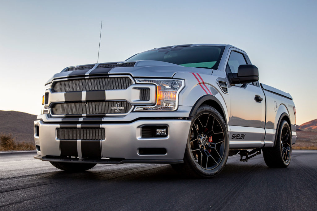 Shelby wcale nie sprzedaje najwięcej Mustangów tylko PickUp'ów
