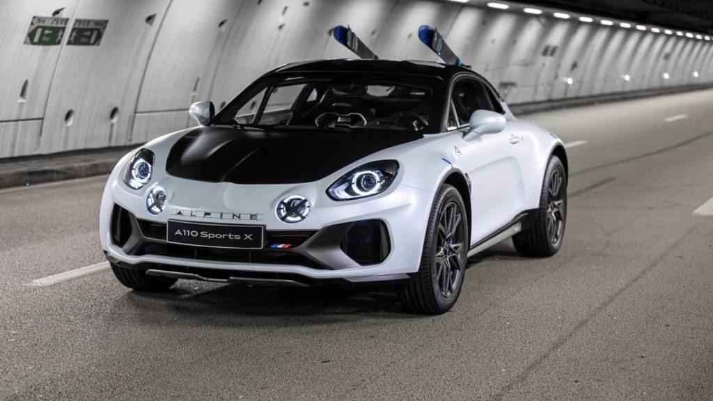 Alpine A110 SportsX – pomysł tak irracjonalny, że aż genialny