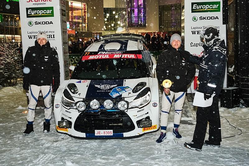 Valtteri Bottas zajął 9. miejsce w Arctic Lapland Rally