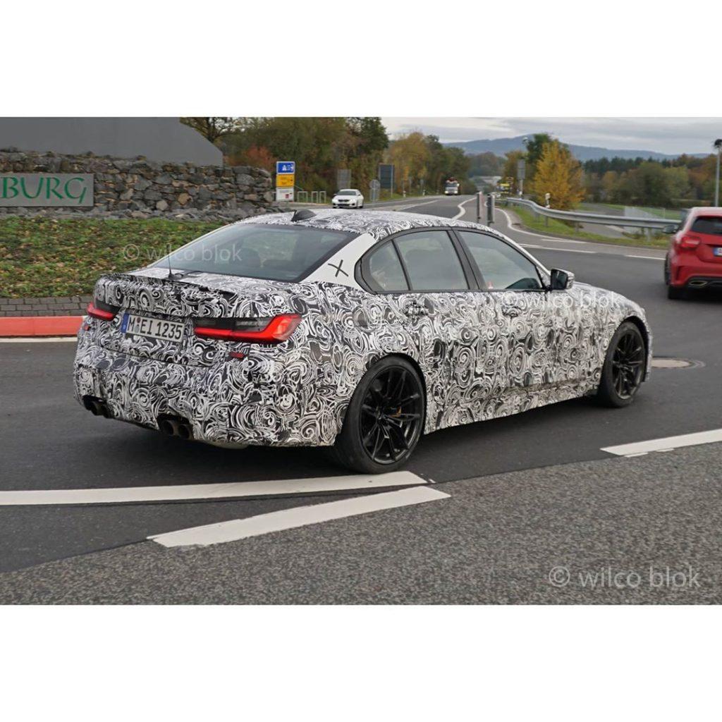 BMW M3 przyłapane podczas testów: będzie napęd na tył i manualna skrzynia