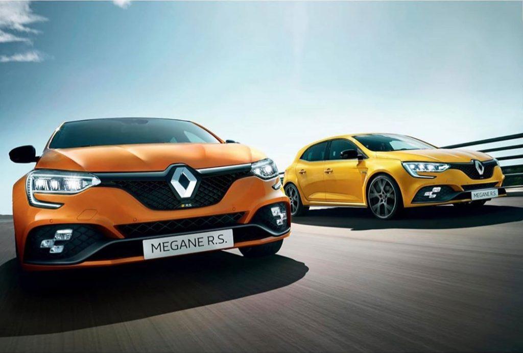 Renault Megane RS 2020 (facelifting) – brak wielkich zmian wizualnych