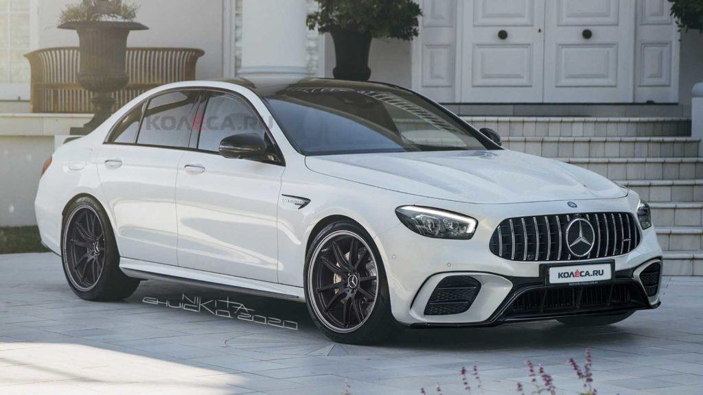 Mercedes-AMG E63 2020 – rendery zdradzają prawdopodobny wygląd