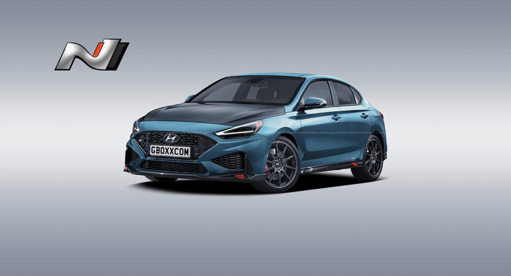 Czy tak będzie wyglądał Hyundai i30 N po zbliżającym się faceliftingu?